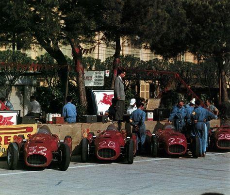 Lancia D50 escuderia en Mónaco 1955