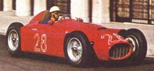 Lancia D50 pilotado por Luigi Villoresi