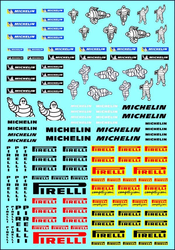 M545 Michelin Pirelli