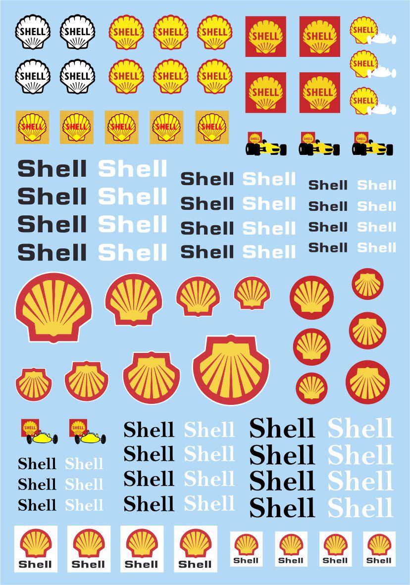 Calcas slot car Shell